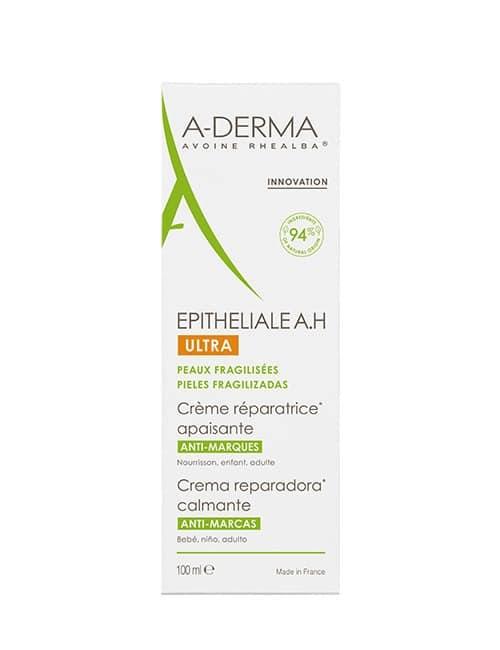 A-Derma EPITHELIALE AH ULTRA embalaže pomirjajoče kreme