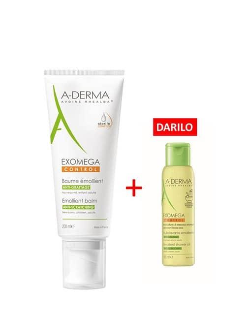 A-Derma-Exomega-Control-balzam-200-ml-+-DARILO-A-Derma-Exomega-Control-olje,-100-ml