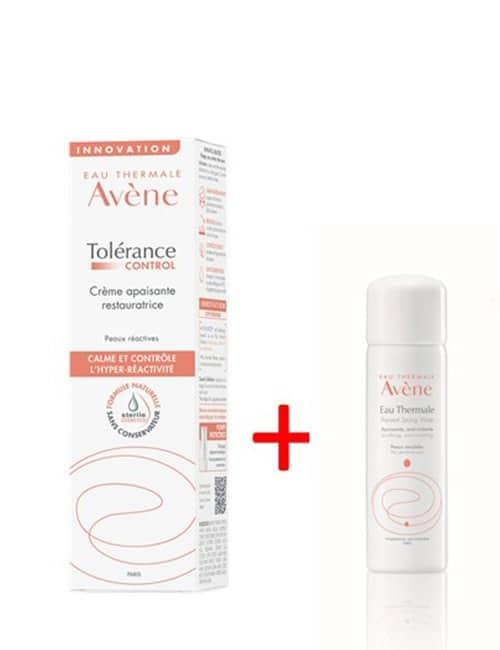 Avene-Tolerance-Control-krema-+-DARILO-Avene-Termalna-izvirska-voda,-50-ml