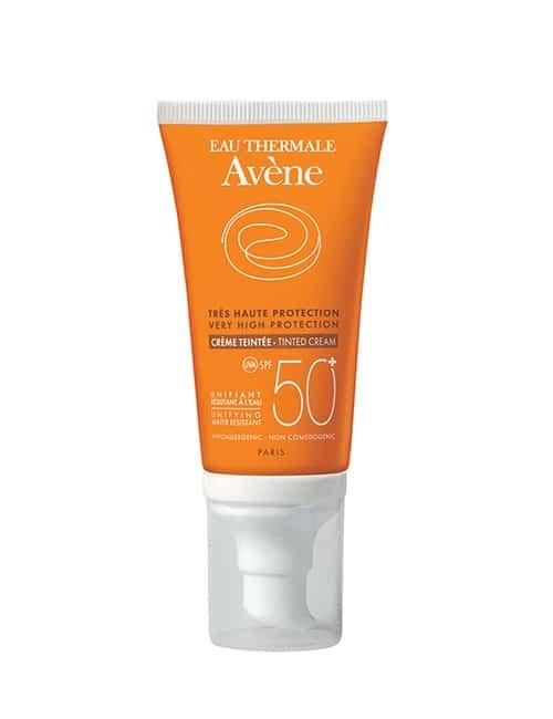 Avene obarvana sončna krema SPF50+ 50 ml