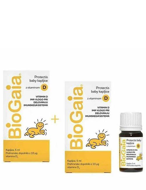 Biogaia D3 2x5 ml