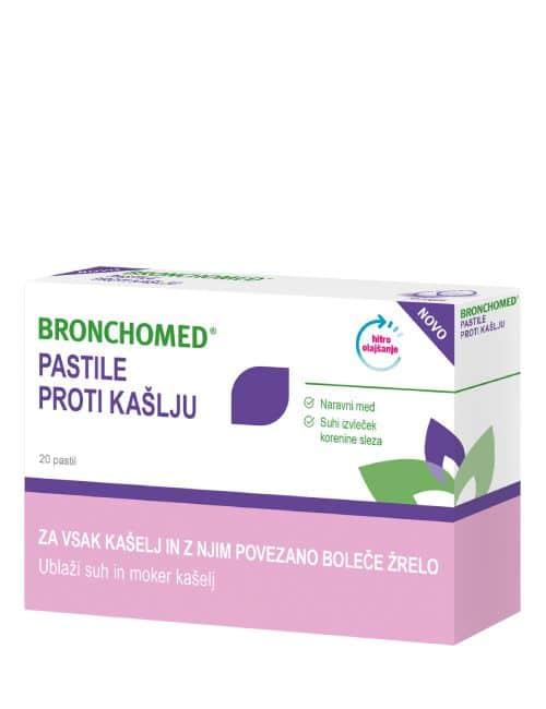 Bronchomed pastile škatlica