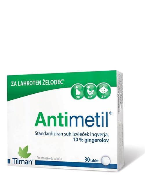 Slika embalaže Antimetil izdelka