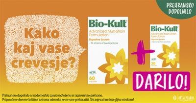 Bio-Kult prehransko dopolnilo banner za darilo