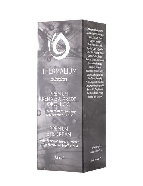 THERMALIUM PREMIUM krema za predel okoli oči 15 ml
