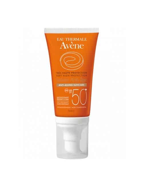 Anti-aging zaščita pred soncem SPF 50+