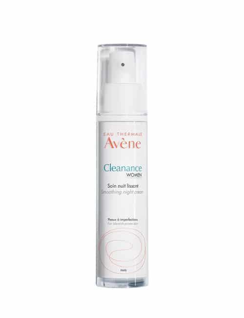 Plastenka Avène Cleanance WOMEN Gladilna nočna krema 30 ml