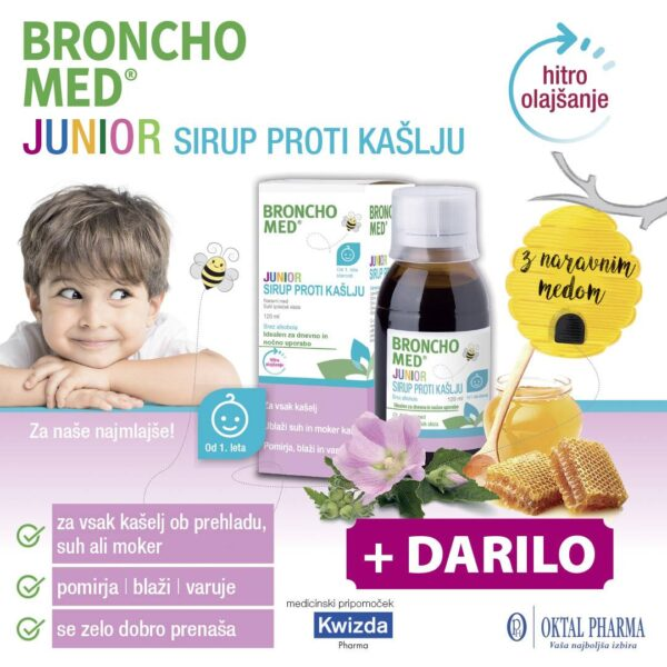 netArnica-Bronchomed + Bio-Kult Infantis