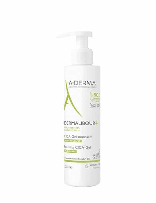 A-DERMA DERMALIBOUR+ peneči CICA-gel 200ml