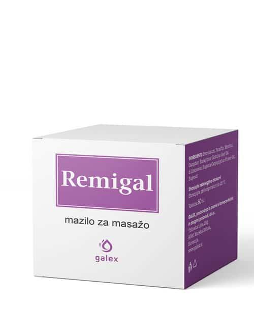 Remigal mazilo za masažo 50 ml
